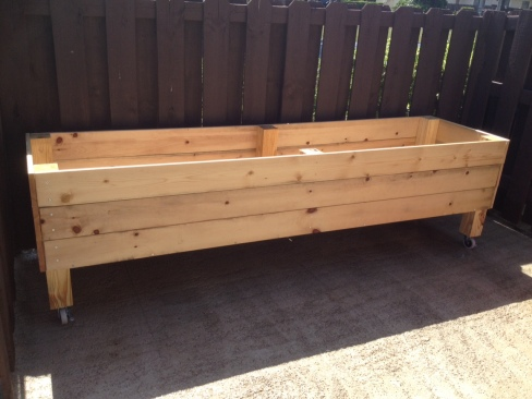 Completed Garden Bed